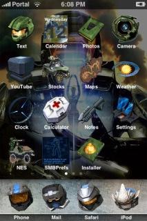 Halo IPhone Theme Mobile Theme