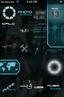 Iron Man Apple IPhone Theme Mobile Theme