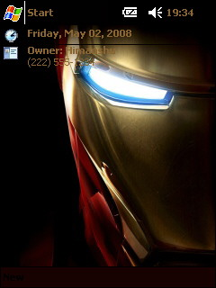 Iron Man II Htc Theme Mobile Theme