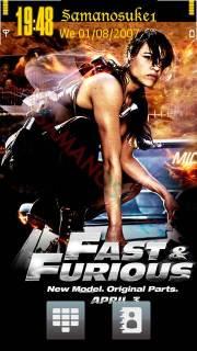 Fast Furious 4 Nokia Theme Mobile Theme
