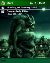 Nightmare Htc Theme Mobile Theme