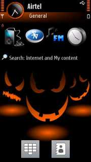 Halloween Theme Mobile Theme