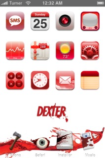 Dexter Apple IPhone Theme Mobile Theme