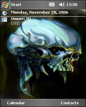 Ghost Htc Theme Mobile Theme