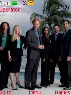 CSI Miami Theme Mobile Theme