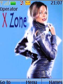 X Zone Mobile Theme