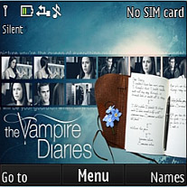 The Vampire Diaries Mobile Theme