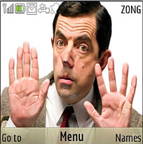 Mr Bean Mobile Theme
