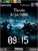 Harry Potter Clock Mobile Theme