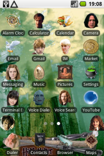 Harry Potter ICons For Android Theme Mobile Theme