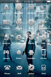 City Mafia For IPhone Theme Mobile Theme