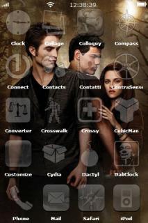 Twilight Apple IPhone Theme Mobile Theme