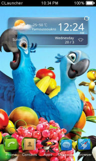 Rio 2 Movies For Android Theme Mobile Theme