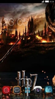 Harry Potter Free Android Theme Mobile Theme