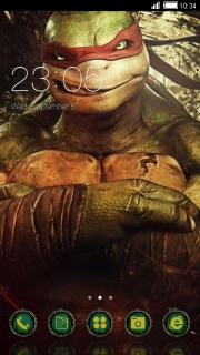 Ninja Turtle Android Free Theme Mobile Theme