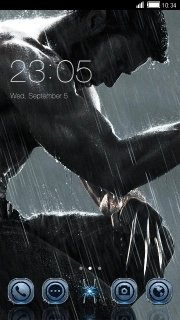 Wolverine Raining Free Android Theme Mobile Theme