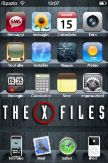 The X Files IPhone Theme Mobile Theme