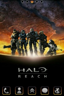 Halo Reach Fighters Android Phones Mobile Theme