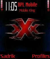 XXX 4 X Mobile Theme