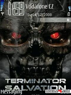 Terminator Salvation Mobile Theme