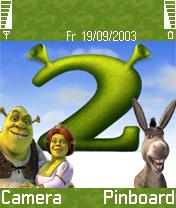 Shrek 2 Mobile Theme