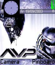 Alien V Preditor Theme Mobile Theme