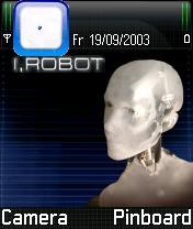 I Robot Mobile Theme