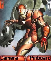 Iron Man Theme Mobile Theme