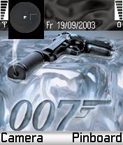 James Bond Theme Mobile Theme