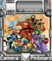 Xmen 3 Theme Mobile Theme