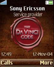 Da Vinci Code Animated Mobile Theme