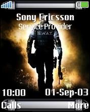 Swat Sony Ericsson Mobile Theme Mobile Theme