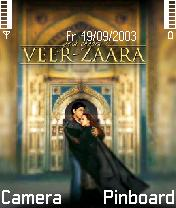 Veer Zaara Mobile Theme