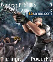 Resident Evil By Shahid Mobile Theme