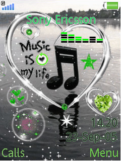 Music Is Life Mobile Theme