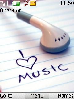 I Love Music Nokia Theme Mobile Theme