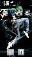 Break Dance Mobile Theme