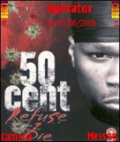 50 Cent Mobile Theme
