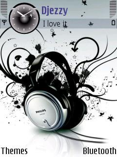 Music Love Mobile Theme