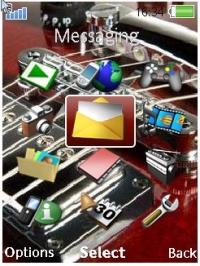 Guitarra Mobile Theme