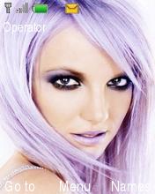 Britney Spears Theme Mobile Theme