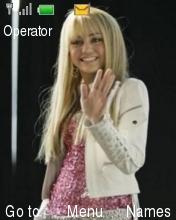 Miley Cyrus Mobile Theme