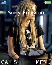 Avril Lavigne Theme Mobile Theme