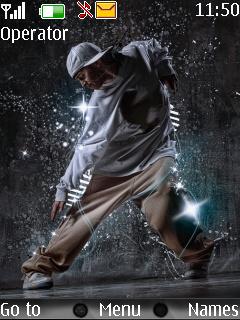 Dancing Boy Nokia Theme Mobile Theme