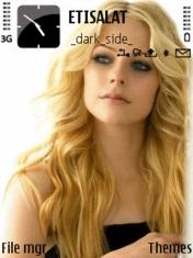 Avril Lavingne Nokia Theme Mobile Theme