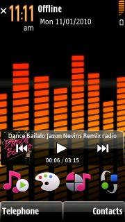 5800 Music Nokia Theme Mobile Theme