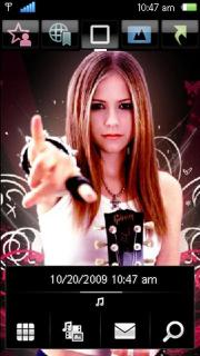 Avril Lavigne Nokia Theme Mobile Theme