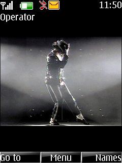 Michael Jackson Nokia Theme Mobile Theme