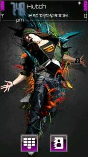 Nokia Dance Theme Mobile Theme