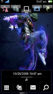 Great Dancer Nokia Theme Mobile Theme